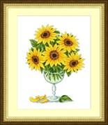 Набор для вышивания  Солнце в бокале