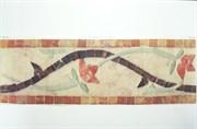 Виниловая наклейка  Мозаика с цветами