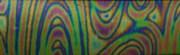 Пластик. Радужный | Print Swirl/Black