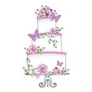 Штамп  Свадебный торт