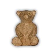 Фигурка из папье-маше мини Медвежонок