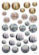 Пленка Freedecor для темных поверхностей  Париж