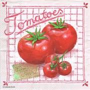 Салфетка  Свежие помидоры