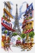 Набор для вышивания  Уютный уголок Парижа