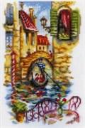Набор для вышивания  Живописные каналы Венеции