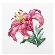 Набор для вышивания  Розовая лилия