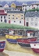 Набор для вышивания  Рыбацкий городок