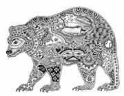 Штамп Медведь, силиконовый ( Earth Art International )