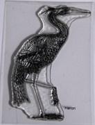Штамп Цапля, силиконовый ( Earth Art International )