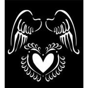 Трафарет большой  Крылья ангела