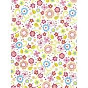Бумага Decopatch цветочная фантазия на белом