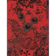 Бумага Decopatch кружево красное-черное