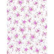 Бумага Decopatch мелкие цветы на белом