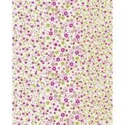 Бумага Decopatch мелкие зелено-розовые цветы