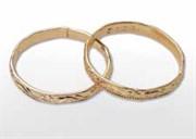 Кольцо разъемное золотое