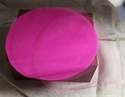 Фатин ярко-розовый