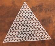 Канва пластиковая Треугольник