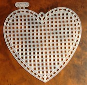 Канва пластиковая Сердце