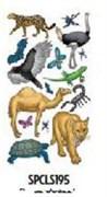 Наклейки  Животные  Животные пустыни