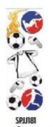 Наклейки  Спорт  Футбол