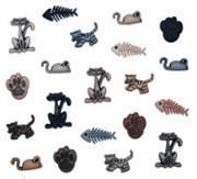 Набор пуговиц  Tiny Cats