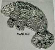 Штамп Морская корова, силиконовый ( Earth Art International )