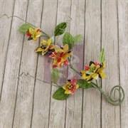 Цветы на стебле  Веселые завитки  (Prima Marketing Inc)