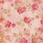 Бумага  Мэдлин: Нарисованные розы