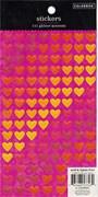 Наклейки  Любовь  Блестящие сердца