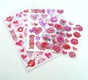 Наклейки Valentine Day Поцелуй