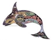 Брелок для ключей Кит-орка ( Earth Art International )