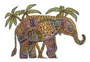Брелок для ключей Слон ( Earth Art International )