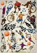 Декупажная карта  Спорт