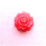 Кабошон  Роза розовая