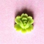 Кабошон  Роза светлозеленая