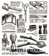 Ткань-купон Barbier беж