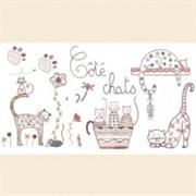 Ткань-купон Chat 31х22