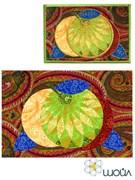 Набор текстильная открытка «Яблочки 2»