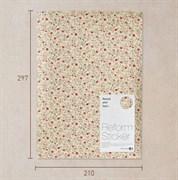 Ткань на клеевой основе  Миниатюрные цветы