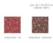 Ткань на клеевой основе  Античные цветы