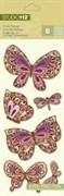 Наклейки-украшения  Бабочки