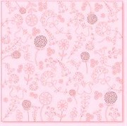 Оверлей лист  EMBROIDERY pink