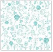 Оверлей лист  EMBROIDERY blue