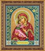 Набор для вышивки бисером  Пресвятая Богородица Владимирская