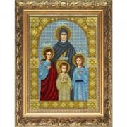 Набор для вышивки бисером  Св. Мученицы Вера, Надежда, Любовь и Софья