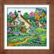 Набор для вышивки бисером  Летний пейзаж