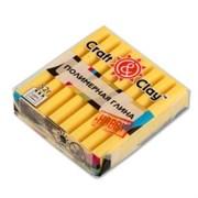 Craft&Clay  полимерная глина CCH 52 г желтый цв.
