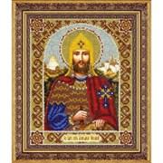 Набор для вышивки бисером   Св. Блгв. князь Александр Невский
