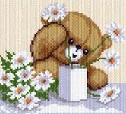 Рисунок на канве  Цветы для мамы