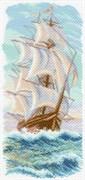Рисунок на канве  Утренний бриз